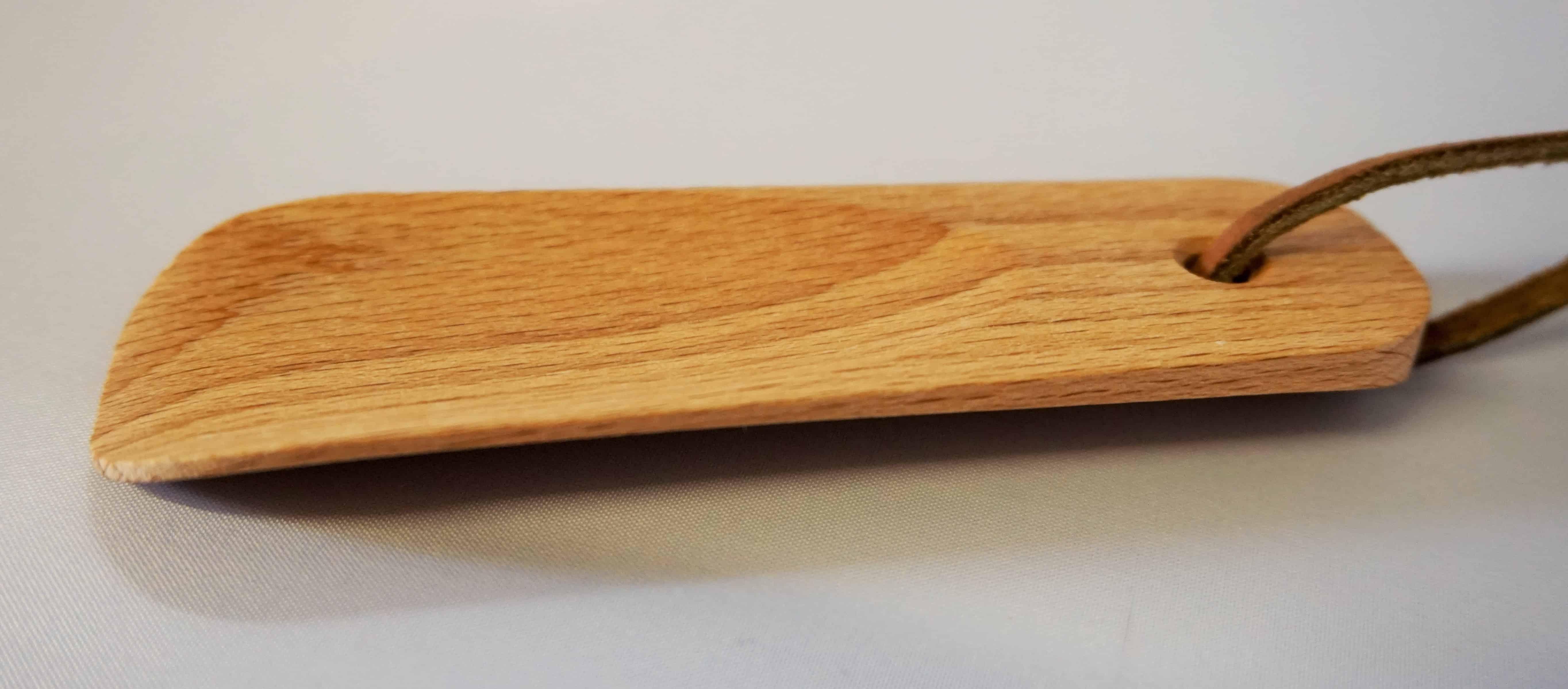 Schuhlöffel mini aus Buchenholz 11,5cm