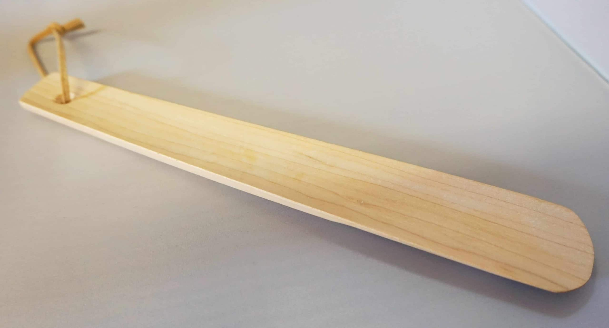 Schuhlöffel aus Ahornholz 24,5cm